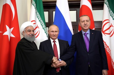 Turkey Russia Iran